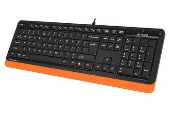 Klawiatura USB przewodowa A4TECH FSTYLER Orange