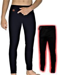 Ogrzewane spodnie termoaktywne Glovii GP1 czarne M