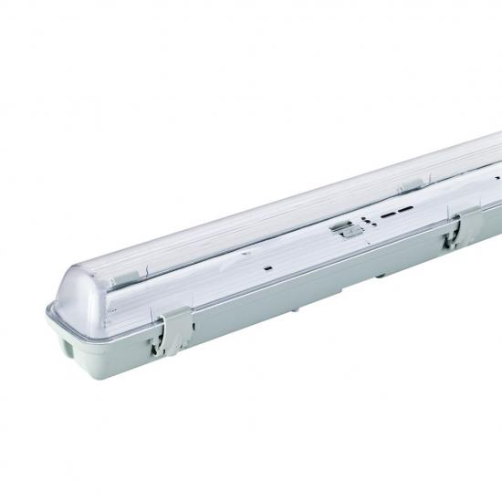 ART Oprawa IP65 dla1xTUBA LED T8,120cm,AC230V,zasil.jednostr,transp.