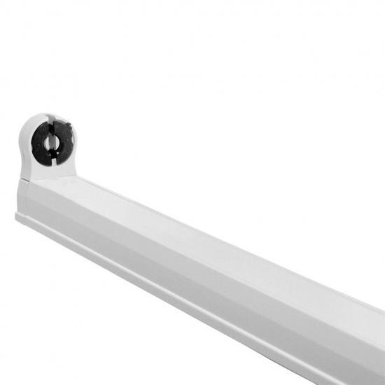 ART Oprawa dla TUB LED T8,120cm,AC-230V,zasil.jednostr,opcja łączenia,biała