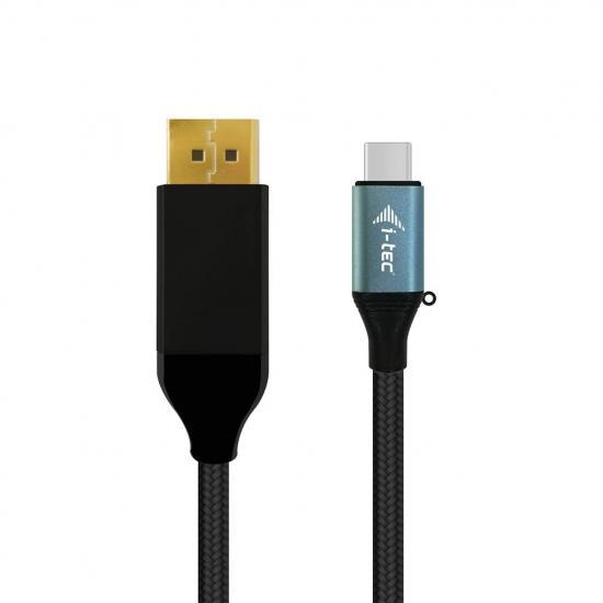 Adapter kablowy i-tec USB-C do DP 4K 60 Hz UHD TB3