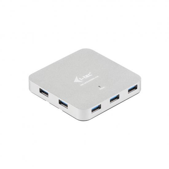 Aktywny HUB i-tec Metal 7x USB 3.0 zasilacz