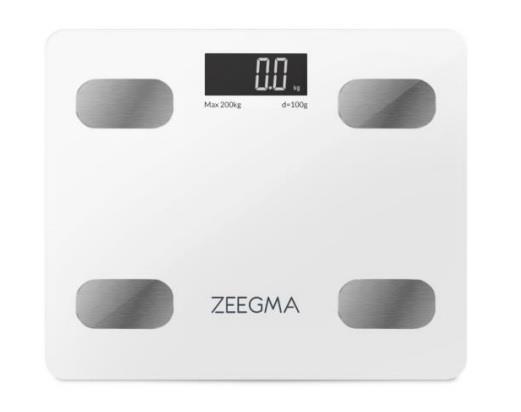 Analityczna waga lazienkowa Gewit White