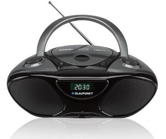 Boombox radio Blaupunkt na baterie MP3 USB AUX CD