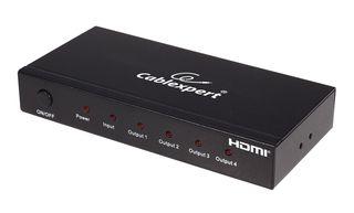 Gembird Video Splitter HDMI 4 porty, 1 Nadajnik -> 4 Odbiorniki