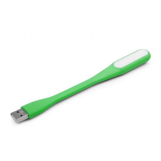 Gembird lampka LED do notebooka na USB, blister, zielona