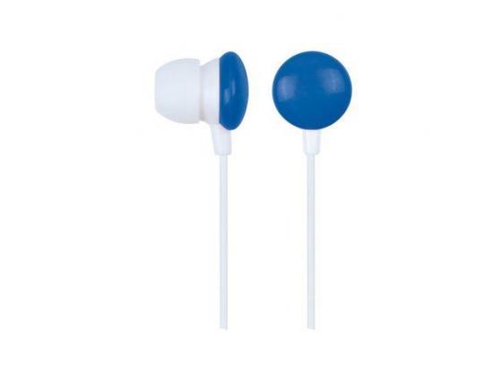 Gembird słuchawki stereo douszne MP3, 3.5mm Jack, niebieskie (90 cm)