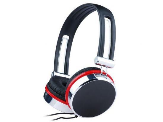 Gembird słuchawki stereofoniczne z mikrofonem i regulacją głośności,black/silver