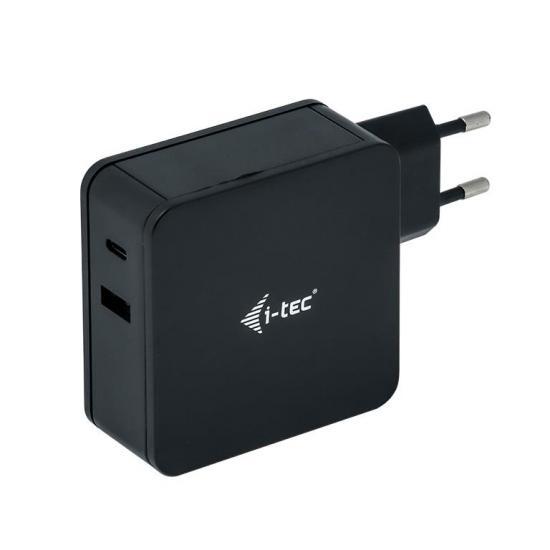 Ładowarka sieciowa i-tec 60W USB-C 3A USB-A 2.4A