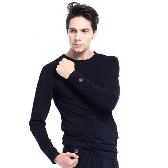 Ogrzewana bluza koszulka termoaktywna Glovii - M