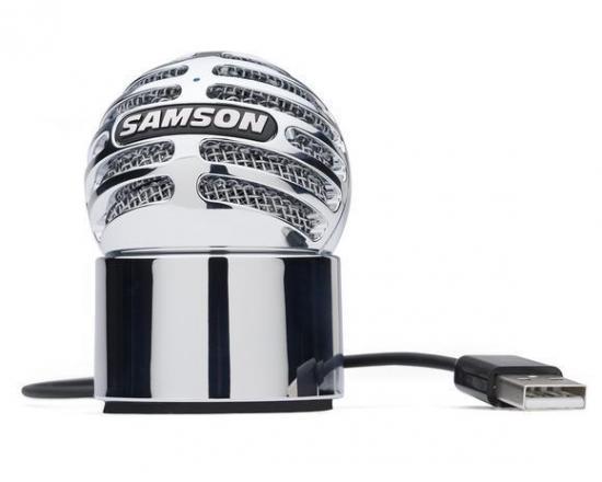 Pojemnościowy mikrofon SAMSON Meteorite USB Apple