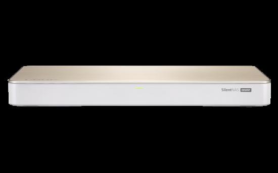 QNAP 4-Bay Fanless, Celeron 4C 1,5 GHz, 4GB RAM, 1x10Gb LAN, 1x1GbE, 3xUSB 3.0