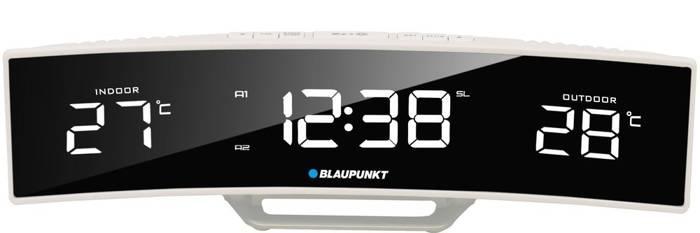 Radio budzik Blaupunkt °C zewnętrzna / wewnętrzna