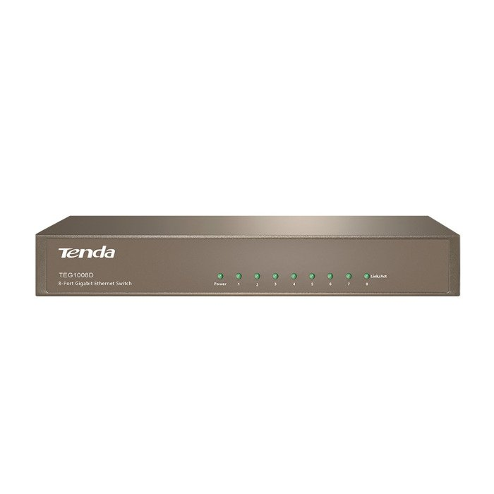 Switch Tenda TEG1008D 8x RJ45 10/100/1000 Mb/s