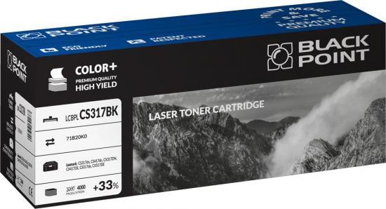Toner Black Point LCBPLCS317BK   black   4000 str.   Lexmark  CS317dn, CS417dn