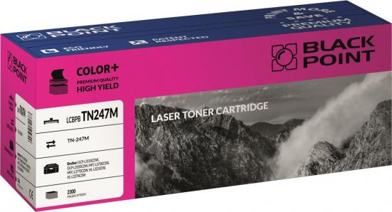 Toner cartridge Black Point LCBPBTN247M | magenta | 2300 str. | Brother TN247M