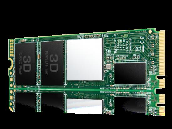 Transcend SSD 220S 256GB 3D NAND Flash PCIe Gen3 x4 M.2 2280, R/W 3300/1100 MB/s